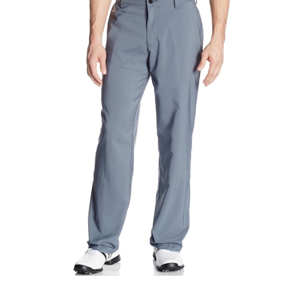 adidas Other - Adidas ClimaLite 3 Stripe Tech Flat Front Pant 33
